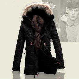 Wholesale Down Proof - Wholesale- free shipping winter jacket coat thick heavy park men down jacket waterproof cold- proof very warm coat