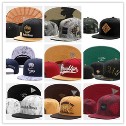 Wholesale Children Baseball - Top Sale New Cayler Sons Children NY Letter Baseball Cap Kid Boys And Girls Bones Snapback Hip Hop Diamonds Supply Co. Snapbacks
