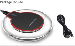 Wholesale S4 Newest - newest Qi Wireless Charger Transmitter Pad FANTASY qi Charging Mat For Samsung S3 S4 S5 S6 EDGE Qi-abled device With Retial Package DHL free