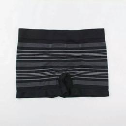 Ropa interior de lycra online-S ** G masculino de mediana altura Lycra pantalones cortos de los hombres de las bragas de los hombres boyshort sin costuras de la ropa interior del boxeador color de la mezcla