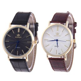 Wholesale Cheap Crown Pins - 2016 Business Men's Watches AAA Casual Screw Down Crown Pin Buckle Gantleman Round Black Man Designer Cheap replicas China Wristwatches
