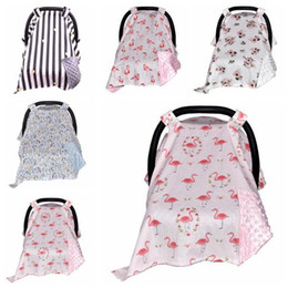 Wholesale High Chair Seat Covers - Baby Carseat Canopy Car Seat Cover Nursing Breastfeeding Covers Shoping Cart Cover Infant Stroller Sleep By Canopy High Chair Cover B2873