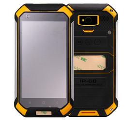 Wholesale Rugged Phones Dual Sim - GuoPhone V19 4.5 inch Rugged Phone Quad Core 1GB 8GB MTK6580 Android 6.0 Unlocked 3G WCDMA Smartphone Dual SIM