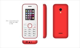Wholesale Dhl Cheap Cell Phone - Free DHL Cheap GSM Cell Phone with English 1.8inch Screen 2040 S500 GSM 900 1800 1900MHz FM Unlocked Phone 100% Cheap Hot sale phone
