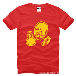 Wholesale T Shirt Bad - WISHCART Breaking Bad Heisenberg Pharmacist T Shirt Tshirt Mens Men 2016 New Cotton Novelty T-shirt Tee Camisetas Hombre