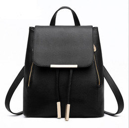 Wholesale School Bags Handbags - 2015 Fashion Canvas Backpack Designer handbag Retro Shoulder Bags School bag computer bag Free Shipping
