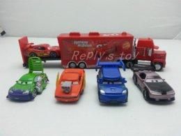 Wholesale Pixar Cars Dj - Pixar Cars Snot Rod & DJ & Boost & Wingo & MaiKun Metal Toy Car 1:55 Loose Brand New In Stock &
