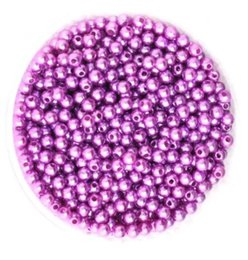 Wholesale Brilliant Pearl - 500pcs set Dia 6mm Multi-Color Round High Quality ABS Pearl Glass Beads DIY Craft Fashion Jewelry Accessories Garment Beads