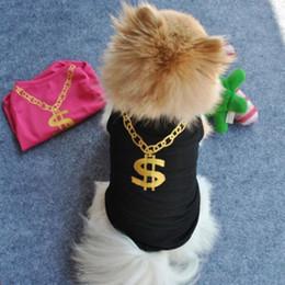 Wholesale Dog Flower Dresses - Pet Dog Summer Breathable T-shirt Vest Puppy Bikini Flower Print Clothes Large