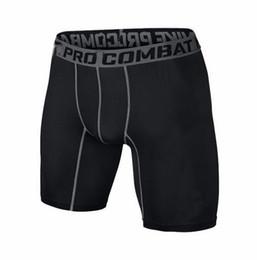 Wholesale Fitting Compression - S-XXL shorts PRO Short Men Slim Fitted compression Active shorts Sweatpants Bodybuilding Combat Dry Leggings men short pants