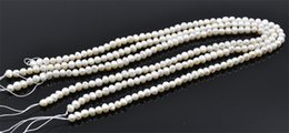 Wholesale Loose Pearl Natural - New Noble Natural Fresh Water Loose Pearl Beads 5MM Fine Wedding Jewelry High Quality for Wholesale Free Shipping