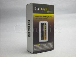 Wholesale Strip Lights For Trucks - Mi Light 2.4G 4-Zone LED Controller for Single color LED Strip LED downlight Brightness,LED Dimmer control truck