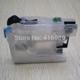 Wholesale Lc123 Chip - For Brother DCP-J4110DW J132W J152W J552DW J752DW printer LC123 LC127 LC125 refillable Ink cartridge with ARC chips