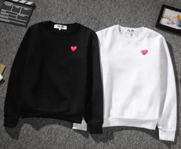 Wholesale Woman Winter Jackets Hoody - 2017 autumn winter fashion Casual Brand loving heart hoodies men women jacket Hip Hop skateboard hoody pullover sweatshirt mens tracksuit