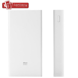 Wholesale Tablet Power 5v - Wholesale-New Original Xiaomi Power Bank 20000mAh 5V 2A For Xiaomi Mi4 Redmi Note 2 Smartphone Xiaomi Mi Pad Tablet In Stock