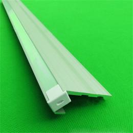 Wholesale Aluminium Floor Strip - 10m 10X1m 40inch 61*22mm ultra wide stair light ,led aluminium profile for floor,corner ,led bar light for 10mm strip