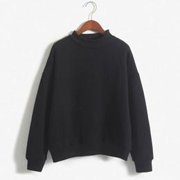 Wholesale Wholesale Black Sweatshirts - Hot Sales Women Hoodies Casual sweatshirt pullover candy coat jacket outwear Tops