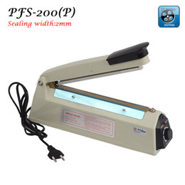 Wholesale Hand Impulse Sealer - PFS-200 Plastic (2mm) Plastic film, heating impulse sealing machine,hand impulse sealer 220V,transformer in copper wire