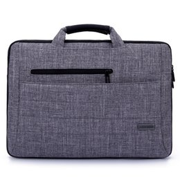 Wholesale Laptop Computer Accessories Bags - High Quality Laptop Bags Fashion Sleeve Case Handbag For Macbook Air Pro Retina 14 15 inch Notebook Computer Protection Case Accessory Pouch