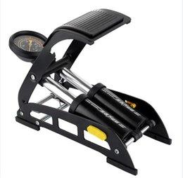 Wholesale Floor Air Pump - Bike Pump Foot, Portable Floor Pump with Accurate Pressure Gauge, Foot Air Pump Inflator for Bicycle, Motorcycle, Car, Mountain Bike, Basket