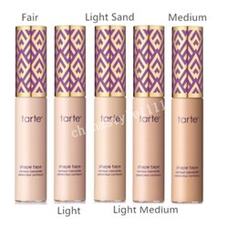 Wholesale High Tape - NEW Shape Tape Concealer Contour 5 Colors Available Hot Sale High Quality Face Concealer Free Shipping 1PC