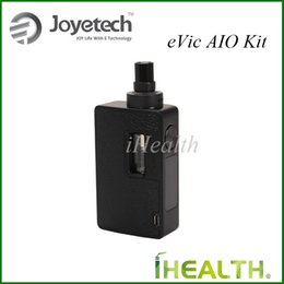 Wholesale Joyetech Evic Top - Joyetech eVic AIO Starter Kit 75W eVic AIO Powered by Replaceable Battery with 3.5ml Built-in Atomizer Top Refilling100% Original