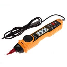 Wholesale Pen Type Digital Multimeter - Free Shipping Pen-type Digital Multimeter with NCV Detector Non-contact DC AC Voltage Volt Ohm Meter order<$18no track