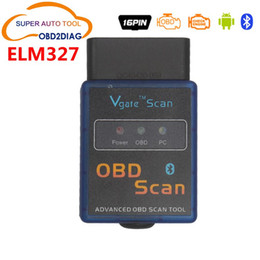 Wholesale Elm327 Android Software - Free Shipping!ELM327 Vgate Scan Advanced OBD2 Bluetooth Scan Tool(Support Android And Symbian) Software V2.1 High Quality