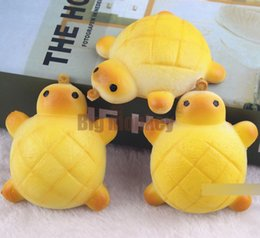 Wholesale Toy Seal Animal - 20pcs lot The tortoise pineapple bread squishy in Sealed packaging
