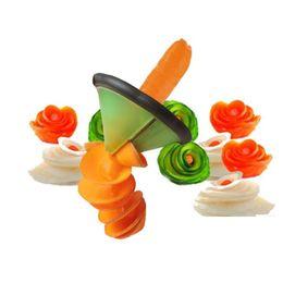 conjunto de cortador de vegetais plásticos Desconto Criativo Cozinha Gadgets Spiralizer Vegetal Slicer Acessórios Ferramenta de Cozinha # R571