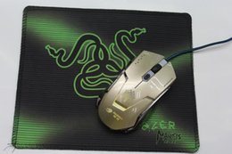 Wholesale Professional Mouse Pads - Professional Snake Tongue Gaming Mouse Pad 250*210*2mm Locking Edge Mouse Mousepad for Game Player
