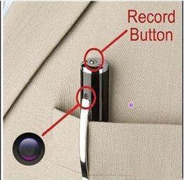 Wholesale Usb Recorder Pen - 10pcs lot Spy Cameras HD 1280x960 Spy Camera Recording Video Audio Recorder Hidden Pen Camera Mini DV Spy USB DV Security CamCorder