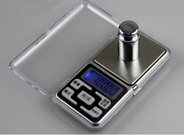 Wholesale Mini Digital Scale Grams - 200g x 0.01g Mini Electronic Digital Jewelry Scale Balance Pocket Gram LCD Display Free Shipping fast