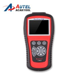 Wholesale Engine Airbag Abs - AUTEL MaxiDiag Elite MD802 for 4 System With Data stream Model Engine,Transmission,ABS and Airbag 4 in 1 Auto Code Scanner