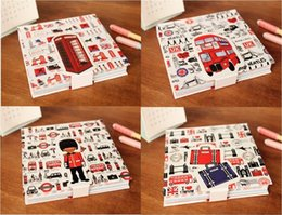 Wholesale London Series - Wholesale- 2pcs lot Fashion Vintage I LOVE London Series diary notebook paper Notepad paper notebook novelty productsWholesale
