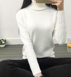 Wholesale Upper Turtleneck - New women's wear turtleneck more women cultivate one's morality narrow sleeve knit render unlined upper garment