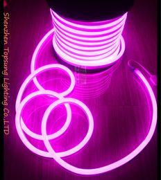 2019 tira flexible led naranja 25 m carrete bonita 14 * 26 mm tira flexible led luces de neón rojo amarillo azul verde blanco rosa naranja rgb 220v 230v 240v tira flexible led naranja baratos