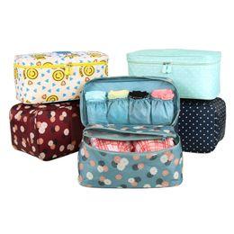 Wholesale Women Ladies Bra Panties - fast shipping fashion bra & Panties makeup toiletries Bag,Ladies Travel Bag Organizers Bra Underwear Secret Pouch Storage