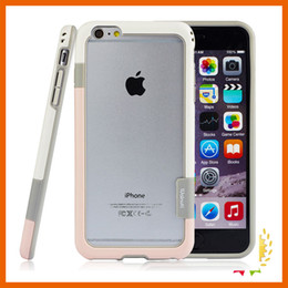 Wholesale Trio Cases - New Walnutt Bumper Trio Slim Fitted TPU Case Sillicone Bumper Shockproof Absorption for iPhone 5 5s 6 6s 7 plus