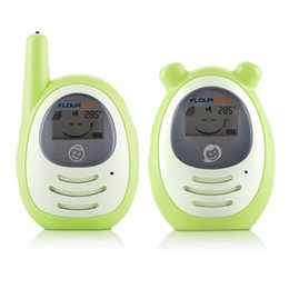 Wholesale Phone Range - 2016 hot sale 2.4GHz Baby Wireless Audio Baby Monitors Radios Nurse Nanny Electronic Babysitter Digital Baby Phone