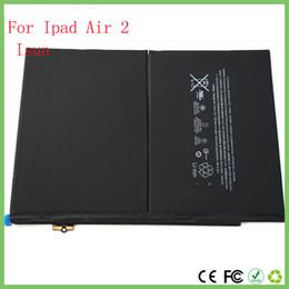 Wholesale Li Ion China - China wholsale ORIGINAL Full Capacity 7340mAh Li-ion Battery For iPad Air 2 For iPad 6 Battery A1547 A1566 A1567 With free tool