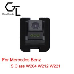 Wholesale Mercedes Benz Backup Camera - For Mercedes Benz S Class W204 W212 W221 Reserved hole Wireless Car Auto Reverse Backup CCD HD Night Vision Rear View Camera