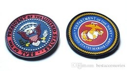 Wholesale Marine Badge - VP-49 3D PVC Rubber Patches United States Marine Corps Military Patch NAVY Tactical badge Tactical Forest Morale Patch sew on patch