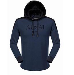Wholesale Men S Designer Suits - New streetwear Brand designer Sweatshirt Men Hoodies Fashion Solid Fleece Hoodie Mens Sports Suit Pullover Mens Tracksuits
