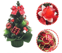 Wholesale Purple Plum Trees - Mini christmas trees 20cm decorative christmas tree Christmas articles for home and office decoration free shipping CT07