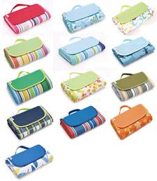 Wholesale Children Picnic Blanket - 2017 Hot Sale Portable Outdoor Picnic Mat Camping Mat Moisture-proof Pads Cushion Children kids Baby Beach Mat