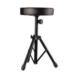 Wholesale Professional Chairs - Wholesale- Professional Padded Drum Throne Seat Stool Stand Drumming Adjustable Chair