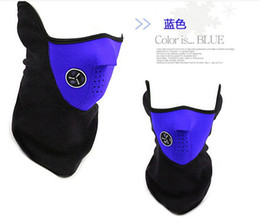 Wholesale Thermal Face - Outdoor Thermal Half Face Mask Windproof Headwear Cycling Mask 3 colors size 54*28cm free shipping