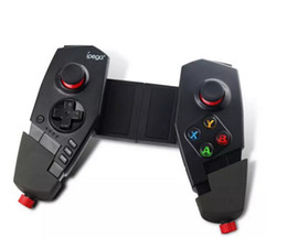 Wholesale Ipega Joystick Games - New IPEGA PG - 9055 Red Spider Wireless Bluetooth Gamepad Telescopic Game Controller Gaming Joystick For Android IOS Tablet PC