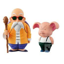Wholesale Master Roshi Figure - 10-15cm Dragon Ball Z Master Roshi Anime Action Figure PVC Collection toys for christmas gift free shipping